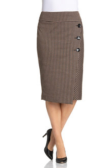 Plus Size - Wrap Skirt