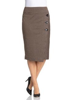 Plus Size - Wrap Skirt
