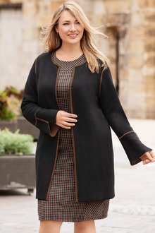 Plus Size - Sara Sleeveless Dress