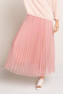 Emerge Tulle Pleat Skirt