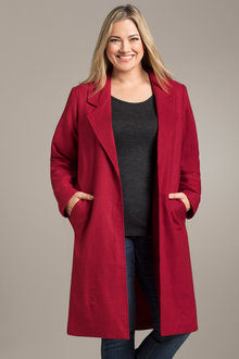 Plus Size - Sara Statement Coat