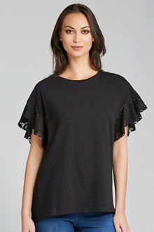 Emerge Lace Back Top