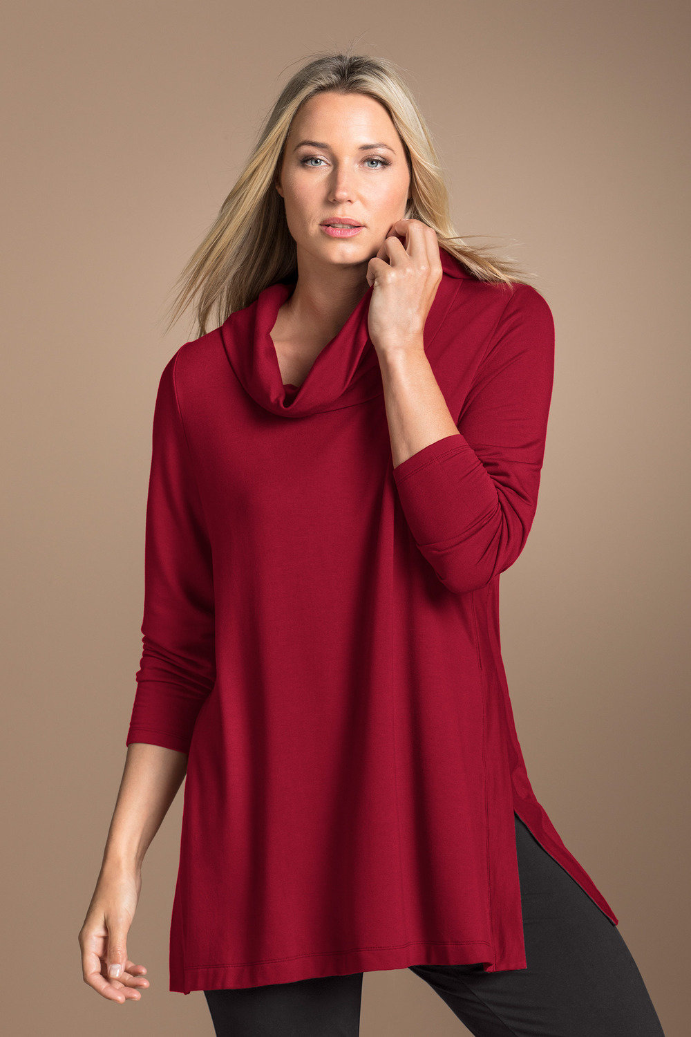 82dad0f9d22 Plus Size - Sara Cowl Tunic
