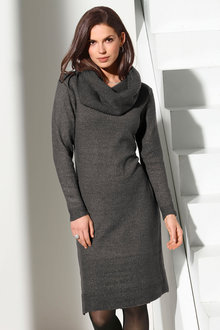 Capture European Cowl Neck Dress