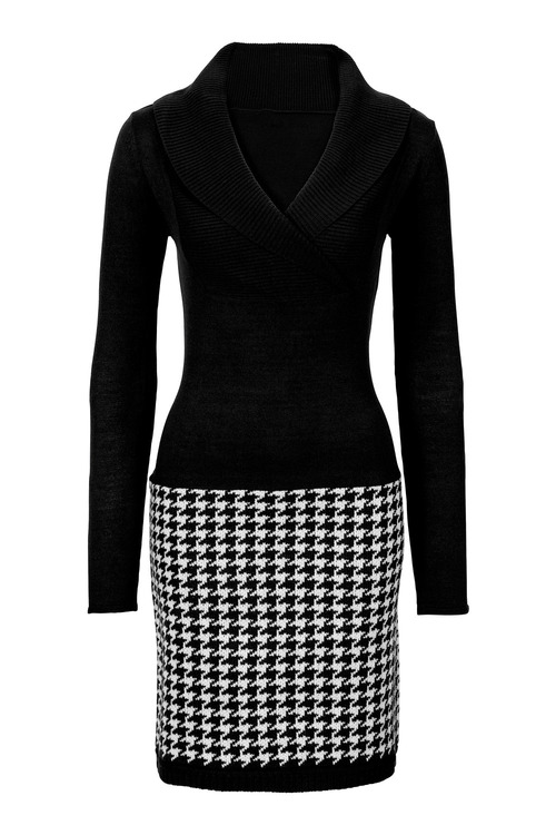 Urban Houndstooth Dress