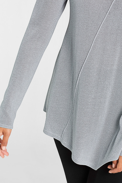 Urban Lurex Knit Tunic