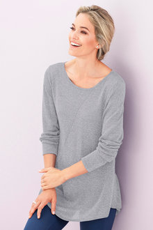 Urban Lurex Knit Tunic - 195433