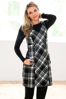 Urban Pinafore Dress - 195434