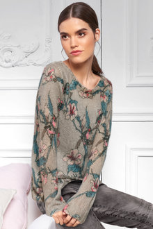Heine Printed Soft Knit Sweater