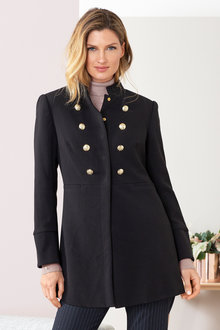 Grace Hill Military Coat