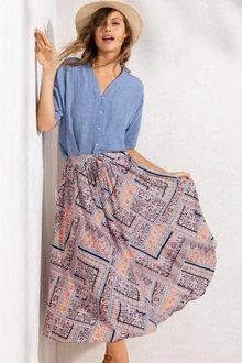 Emerge Print Skirt - 195461
