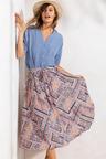 Emerge Print Skirt