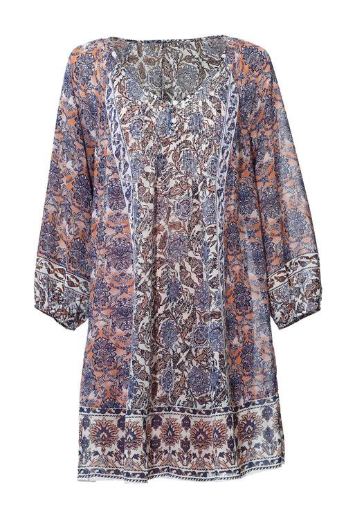 Heine V Neck Printed Dress