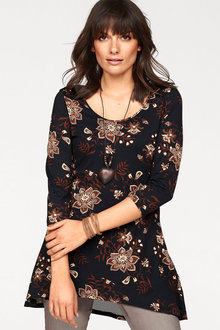Urban Printed Tunic Top