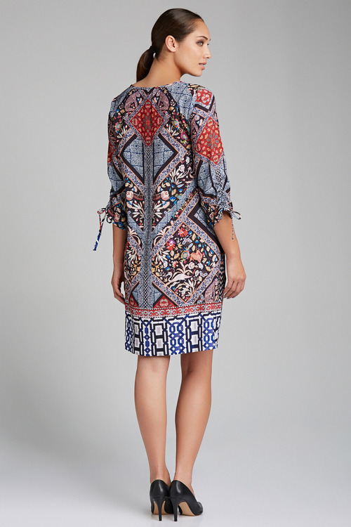Grace Hill Printed Shift