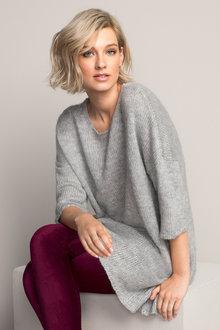 Emerge Longline Knit Tunic