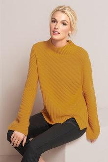Emerge Bell Sleeve Sweater