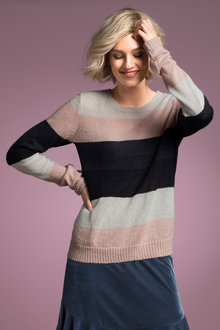 Emerge Stripe Knit - 195504