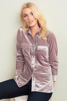 Emerge Velvet Shirt