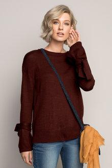 Emerge Tie Sleeve Knit - 195521