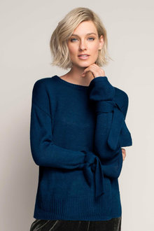 Emerge Tie Sleeve Knit