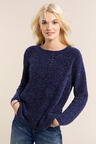 Emerge Crew Neck Chenille Knit