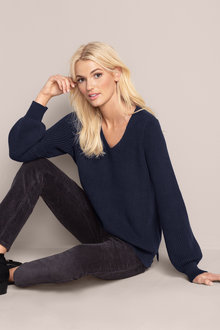 Emerge V Neck Sweater
