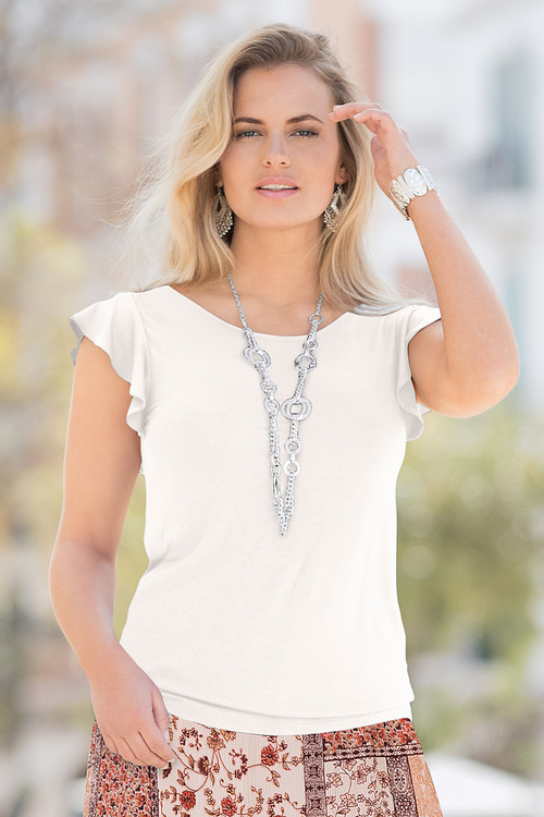 Together Frill Sleeve Top