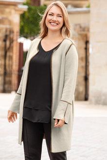 Plus Size - Sara Coatigan (Reversible)