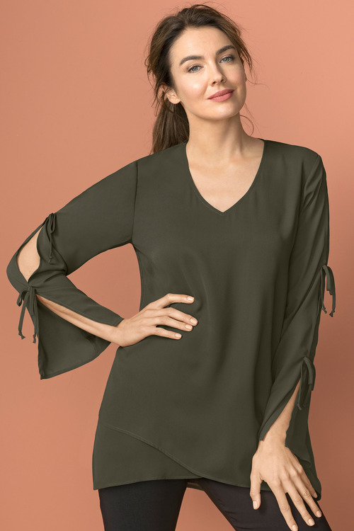 Capture Cross Over Tunic