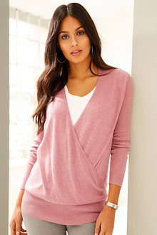 Urban Wrap Front Jumper