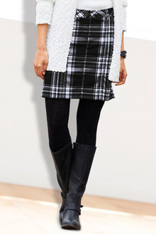 Urban Check Skirt
