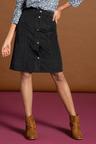 Capture Cord Button Skirt