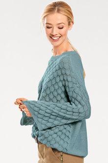 Heine Scale Pattern Pullover