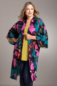 Plus Size - Sara Kimono Longline