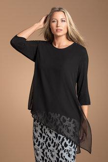 Plus Size - Sara Asymmetric Tunic