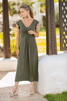 Together Frill Sleeve Dress