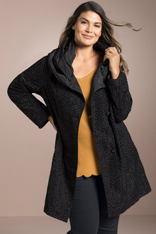 Plus Size - Sara Reversible Lightweight Jacket