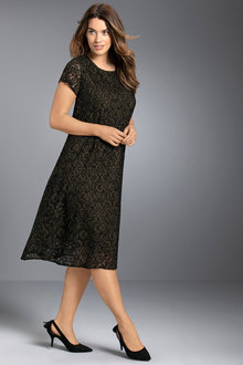 Plus Size - Sara Lace Dress