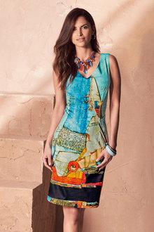 Kaleidoscope Multi Print Dress