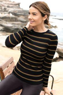 Capture Stripe Knit