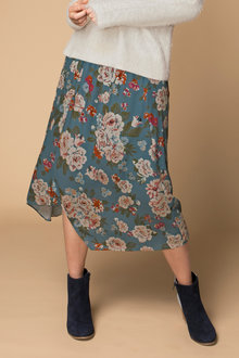 Capture Printed Skirt - 195748
