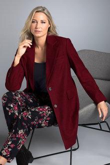 Plus Size - Sara The Coat