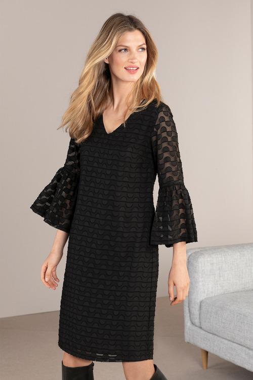 Grace Hill Bell Sleeve Dress