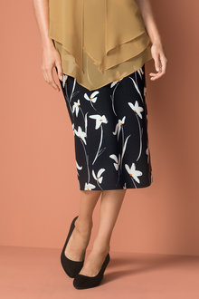 Capture Stretch Pencil Skirt