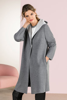 Grace Hill Hooded Coat