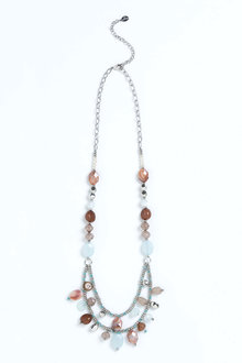 Together Multicolour Stone Necklace - 195786