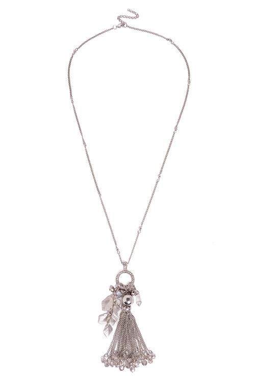 Together Tassel Pendant Necklace