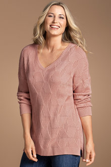 Plus Size - Sara Cable Sweater