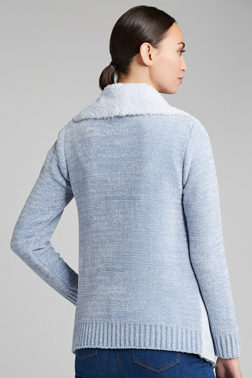 Capture Sherpa Chenille Cardigan